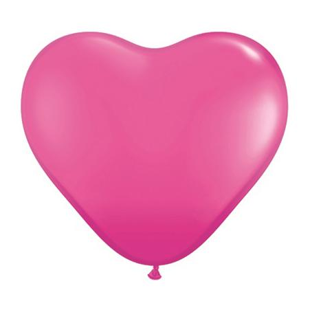 Latexballon Herzen