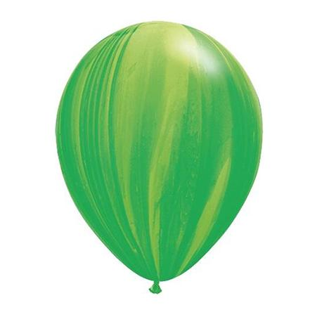 Latexballon Marmoriert