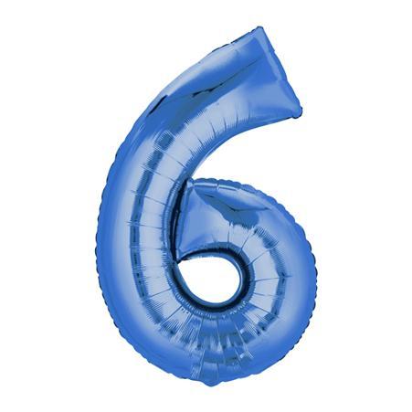Zahl Blau