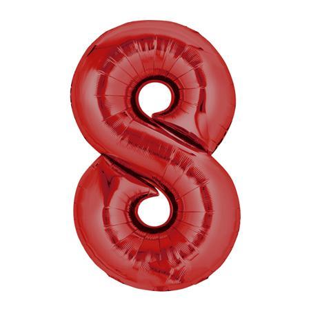 Zahl Rot